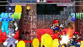 MUGEN Request #444 Team Mario vs Team