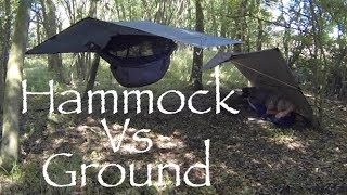 Hammock Camping Vs Ground Dwelling. What I Prefer and Why.