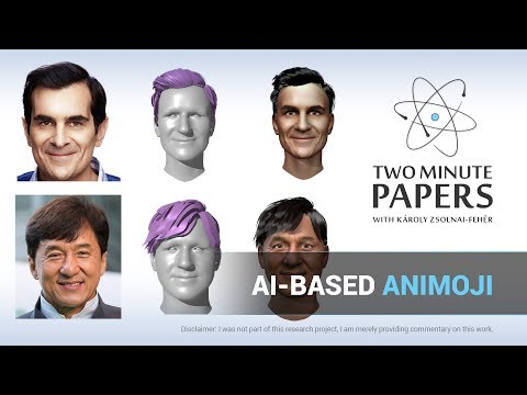 AI-Based Animoji Without The iPhone X | Two Minute Papers #236