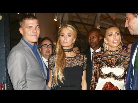 Meeting Of The Heiresses! Paris Hilton And Petra Ecclestone Mingle At Art Opening