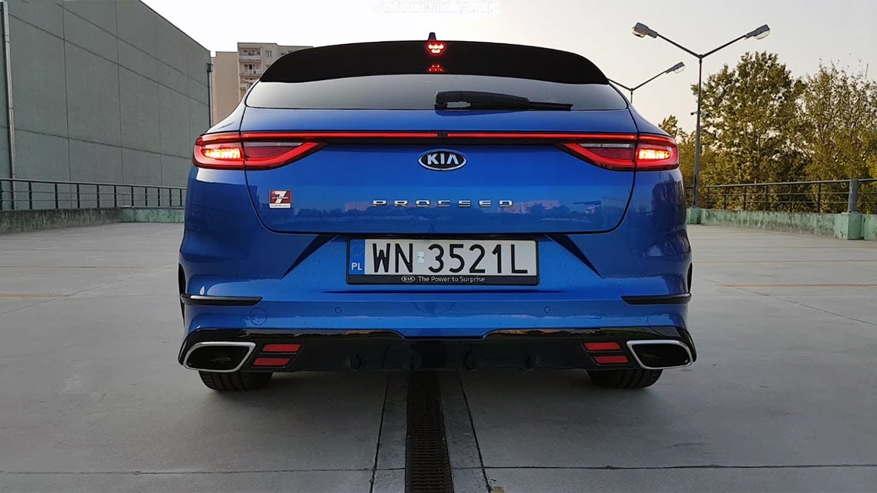 Kia Proceed Gt 1 6 T Gdi Sound Exhaust Sound Revs Cold Start