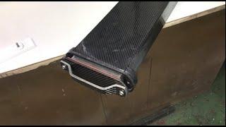 2020 Carbon Fiber Efoil, cnc mold  battery handle PART 9