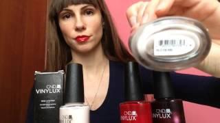 видео Лак для ногтей CND VINYLUX