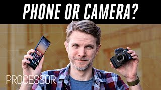 How to choose between a phone and a camera