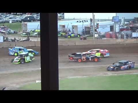 Plymouth Dirt Track Modified Heat Races June 15 2018