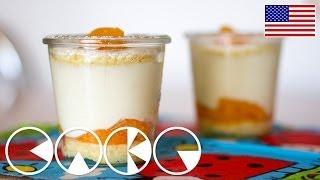 Cheese Cream Tart In Jar