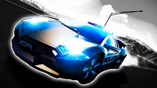 Need For Speed Hot Pursuit - CRAZY 7 CAR POLICE CHASE TAKEDOWNS!