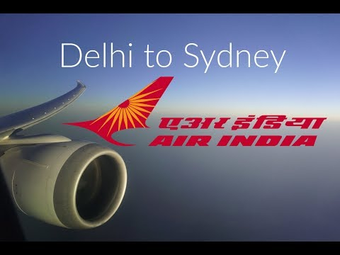 Air India Delhi to Sydney Business Class