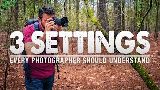3 CAMERA SETTINGS To MASTER For Landscape PHOTOGRAPHY
