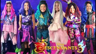 Disney Descendants 3 Halloween Costumes and Toys