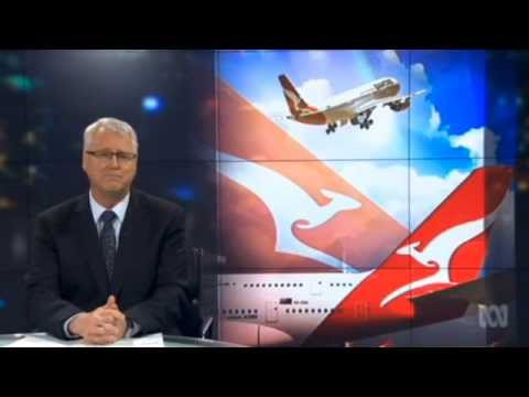 ABC Lateline: Qantas nosedive
