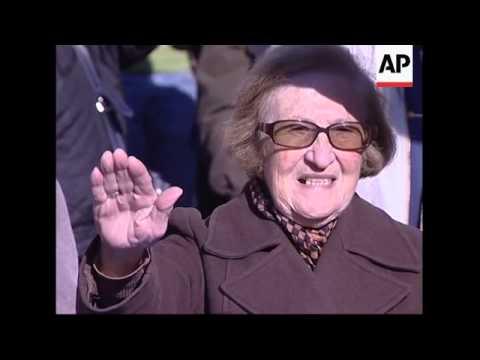 Fascists gather to commemorate hardline civil war leader
