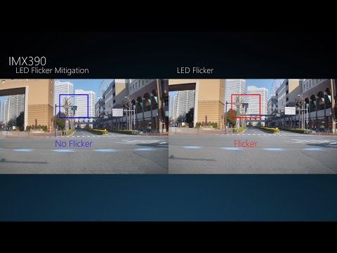 Sony's new HDR camera sensor for self-driving cars