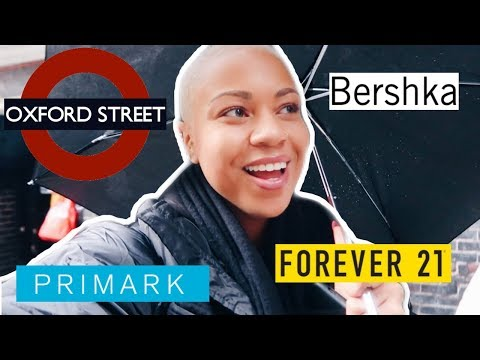 SHOPPING ON OXFORD STREET! PRIMARK, AMERICAN CANDY STORE?? // London Vlog #32