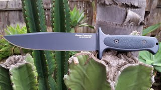 ColdSteel Drop Forged Survivalist  (New Version) Knife Video