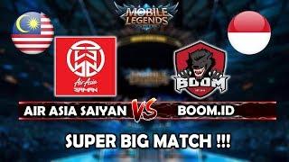 Video Match Terseru !! Air Asia Saiyan(Fredo,soloz)(Malaysia) vs Boom.id(Indonesia) - Mobile Legends download MP3, 3GP, MP4, WEBM, AVI, FLV Juli 2018