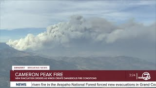 Cameron Peak Fire Update — 3:30 P.m. Friday