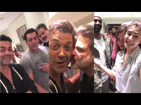 Race 3 Team DRUNK Party - Salman Khan, Jacqueline Fernandez, Anil Kapoor, Bobby Deol, Daisy Shah