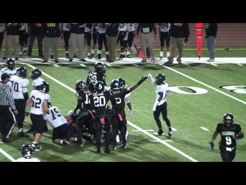 #91-Dillon Knight-DL-2014 Palmdale High School Football Highlights