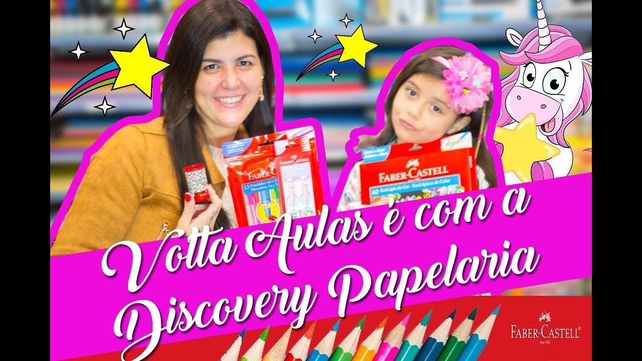 Volta Aulas no segundo Semestre é com a Discovery Papelaria !!!