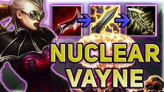 NUCLEAR VAYNE ADC IS SO OP!! THESE DUSKBLADE BUFFS PUT HER OVER THE TOP!! - BEST ADCS PATCH 7.14