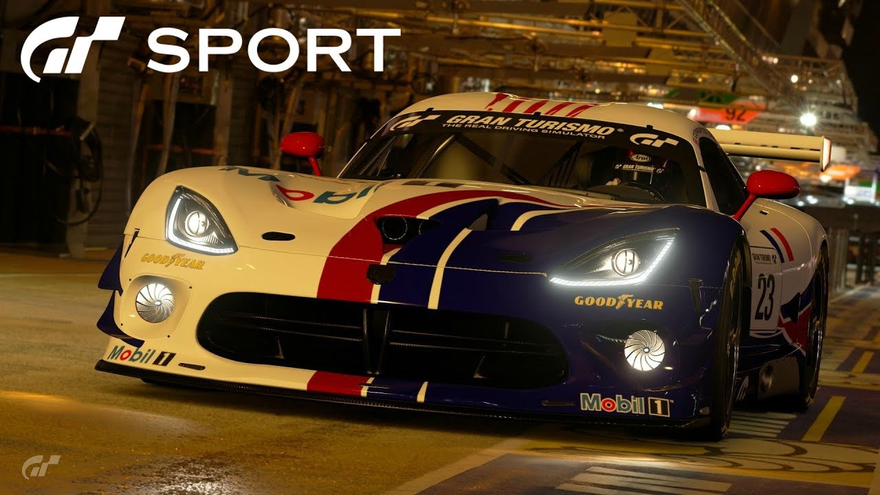 Gt Sport Dodge Viper Gt3 R Review Youtube