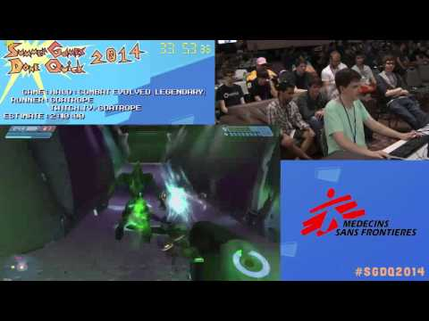 SGDQ 2014 - Halo Combat Evolved Legendary Speedrun by goatrope (1:51:19)
