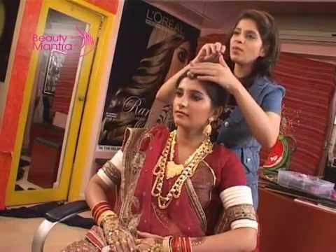 7f3db39eca Rajasthani Bridal Makeup - Face & Hair Makeover - Saundarya - YouTube