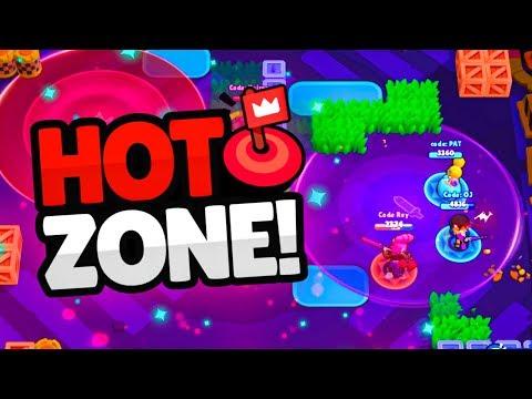 NEW HOT ZONE Mode In BRAWL STARS! (new Update)