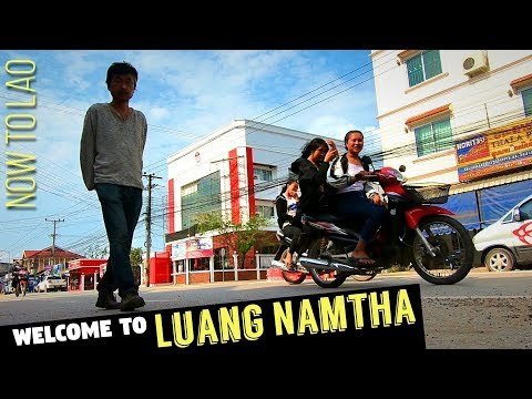 Travel Laos: Welcome to Luang Namtha - Road to Luang Namtha Pt2 - Now to Lao Travel vlogs