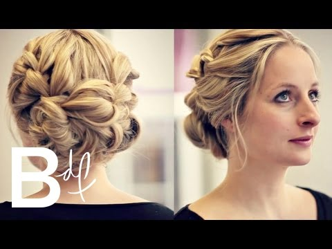 Bridesmaid Hair Tutorial The Perfect Updo Youtube