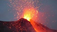Stromboli Vulkanausbrüche (Italien)