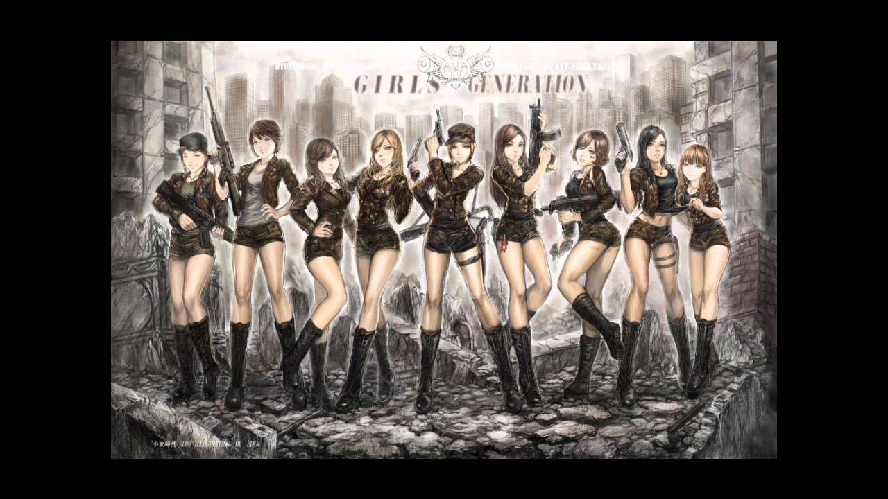 Snsd Echo English Cover Version With Rhyms
