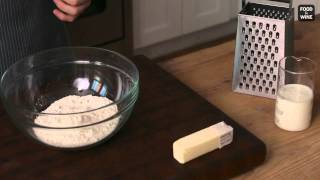 How to Make Biscuits with Grated Butter