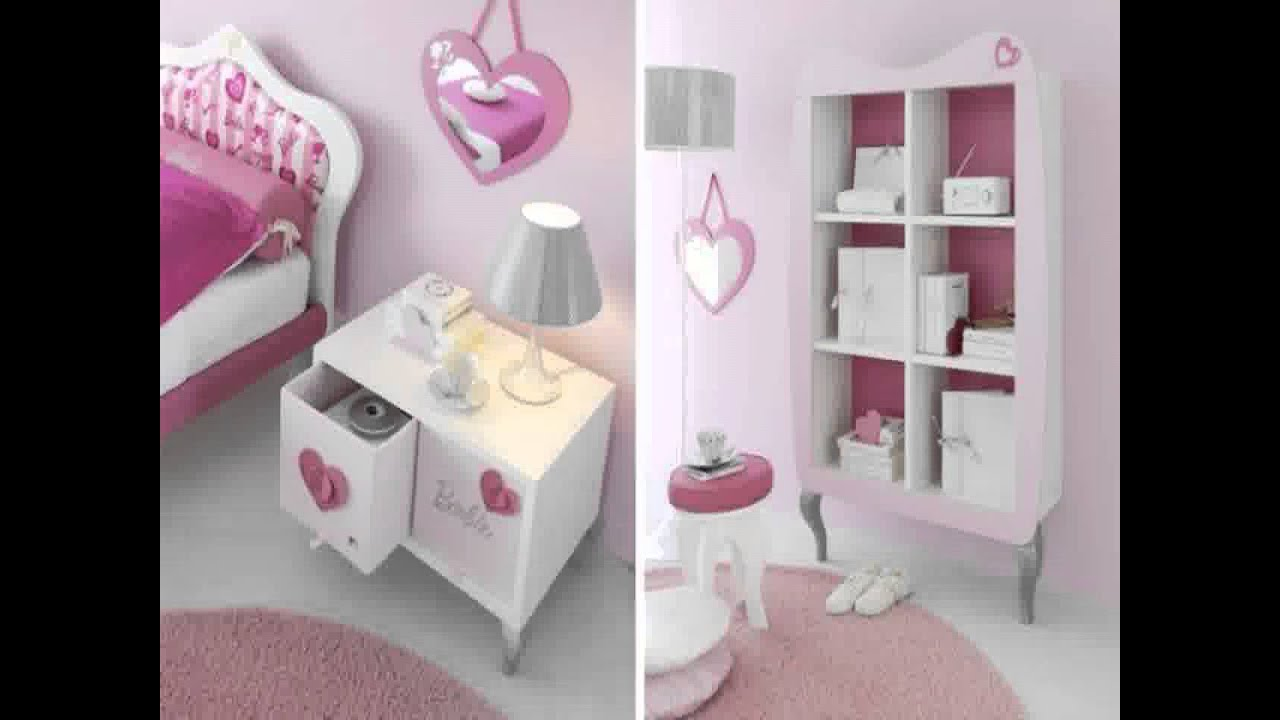 Cute Barbie bedroom design YouTube