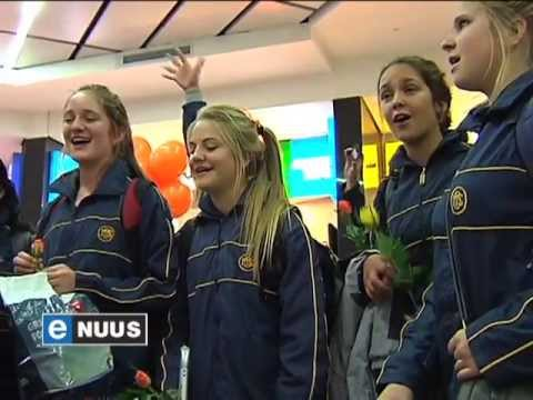 Oranje Meisies-koor wen in Slowakye / Girls choir wins in Slovakia