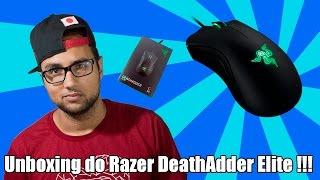 Unboxing do razer deathadder elite !!!