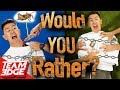 """Would You Rather!?"" In Real Life! 