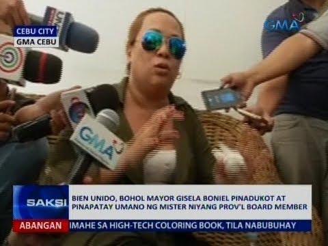 Saksi: Bien Unido, Bohol Mayor pinadukot at pinapatay umano ng mister niyang Prov'l Board Member