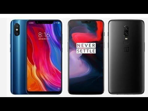 Xiaomi Mi 8 vs OnePlus 6 - Comparison