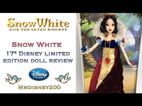 "Snow White 17"" Disney Store Limited Edition doll Review"