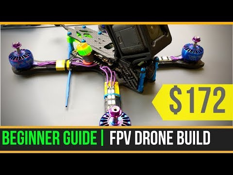 Beginner Guide // How To Build Budget Cinematic Freestyle FPV Drone 2019