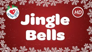 Gambar cover Jingle Bells with Lyrics | Christmas Carol & Song | Christmas Music