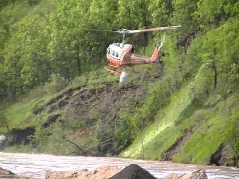 Wawanesa Flood  Choppers