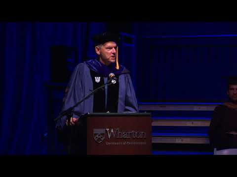 Wharton MBA for Executives Philadelphia Graduation Ceremony 2018