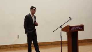 "R.J. Mitte -- Star of ""Breaking Bad"" -- Speaks to the College of Charleston"