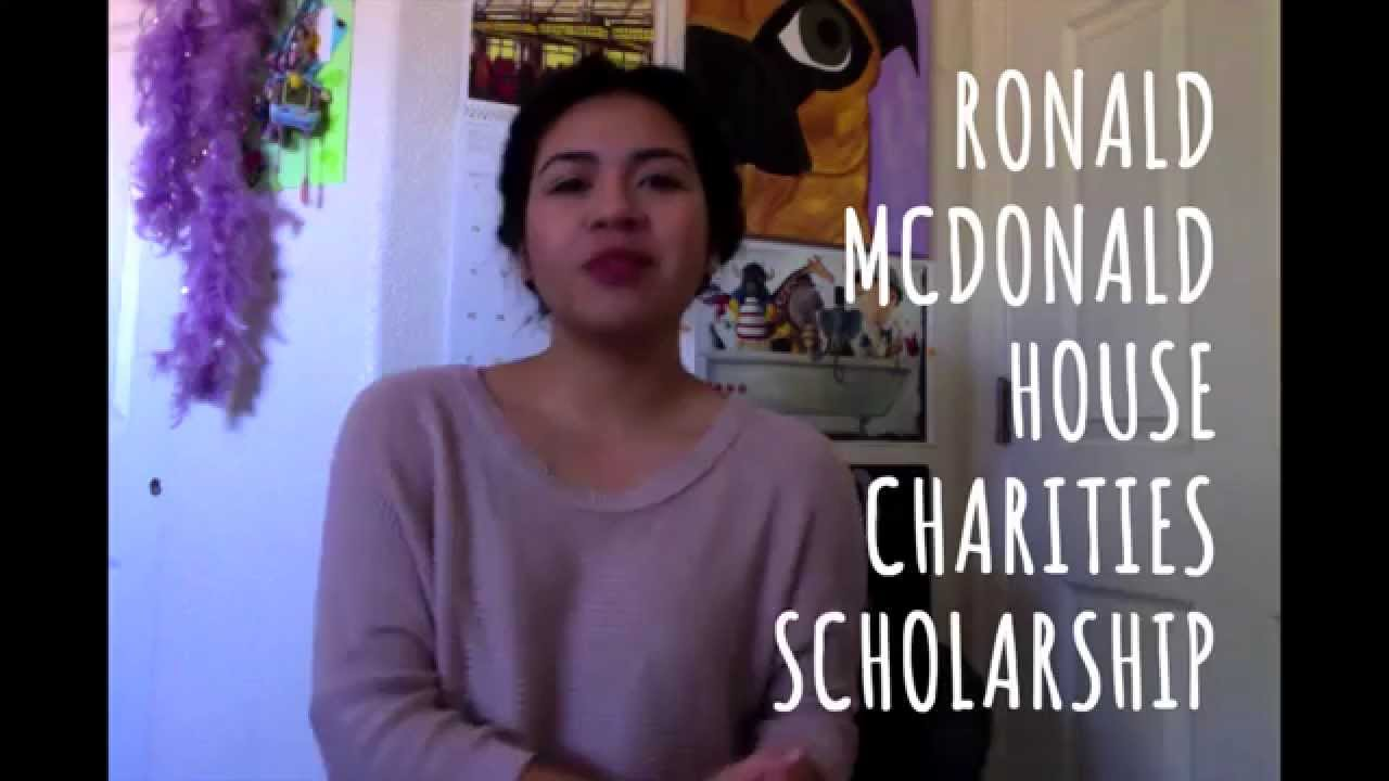 5 Reasons Why I Deserve the RMHC Scholarship