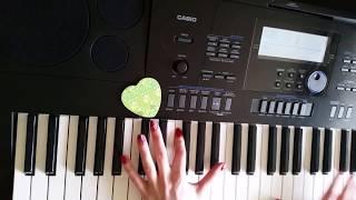 Грибы - Между нами тает лёд (piano cover)