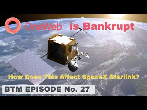 SpaceX Starlink and Competitors Drive OneWeb into Bankruptcy | Who is OneWeb and Why Did It Go Bust?