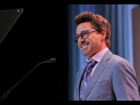 Robert Downey Jr. hilariously duce Scarlett Johansson at Variety's 10th Power of Women Luncheon